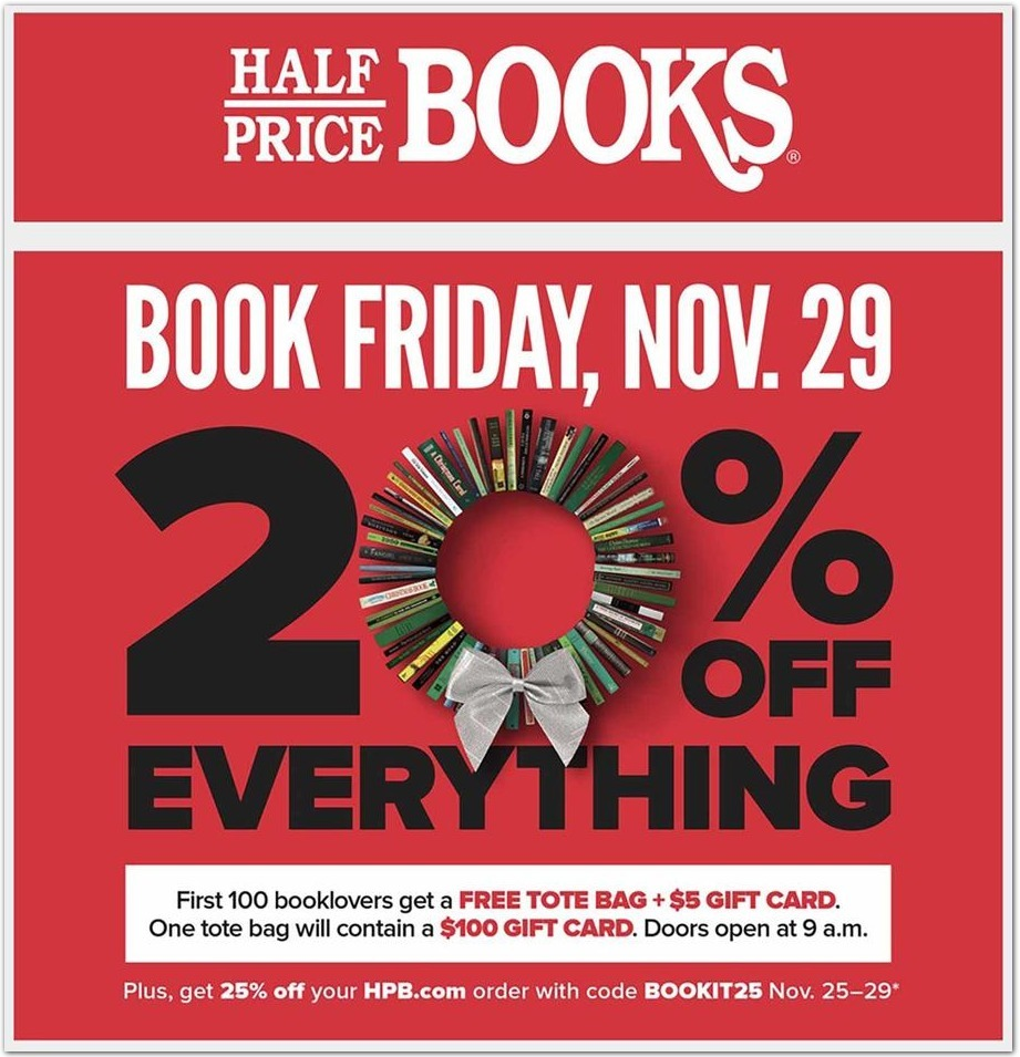 Half Price Books Black Friday 2020 Ad