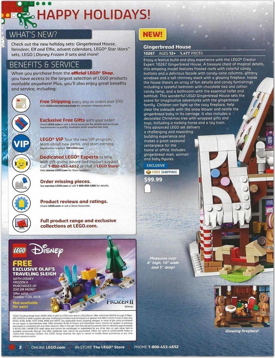 LEGO Black Friday 2020 Ad