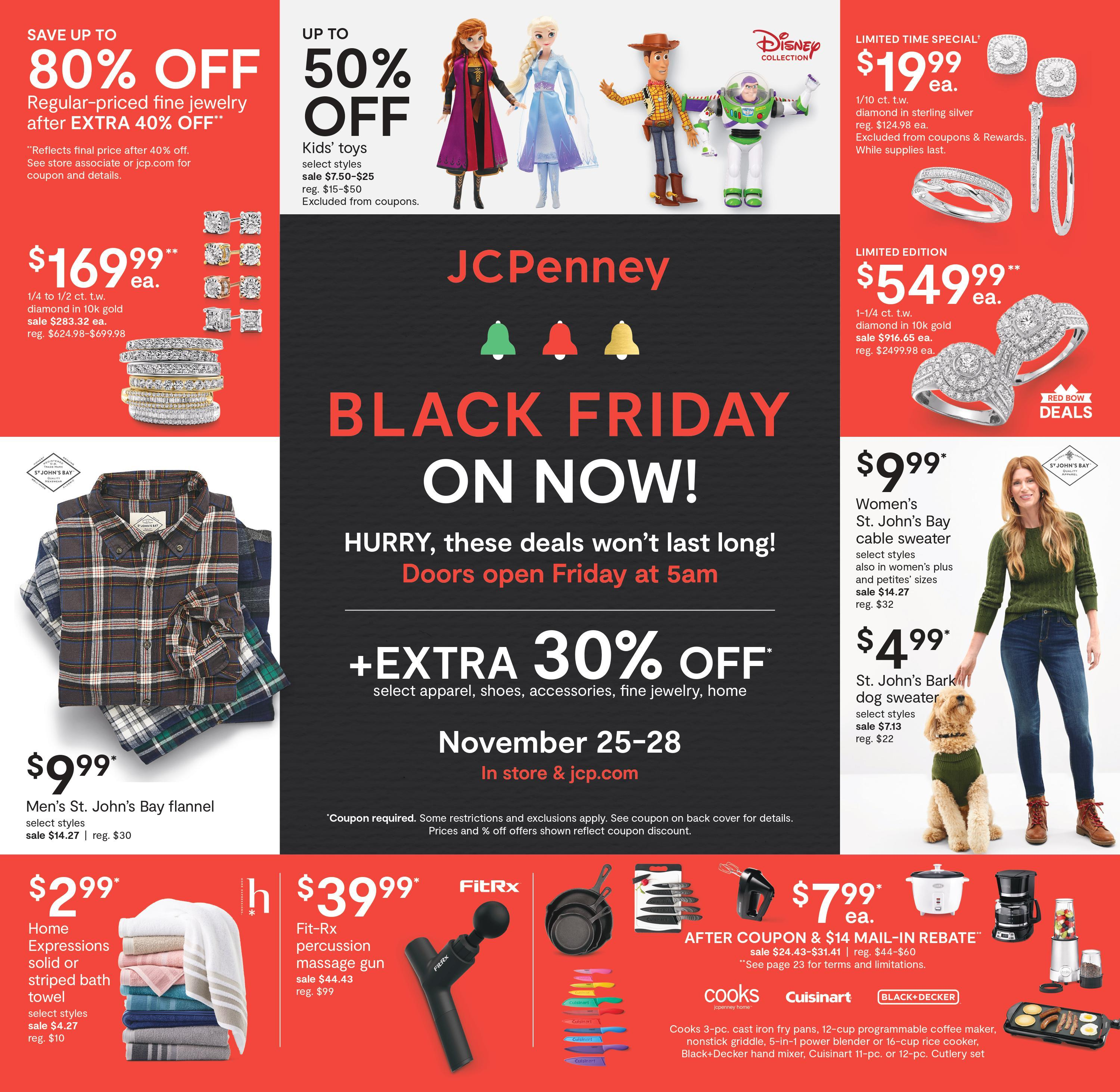 JCPenney Black Friday 2020 Ad