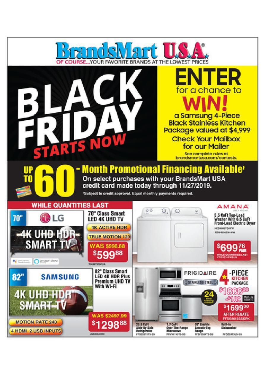 BrandsMart USA Black Friday 2020 Ad