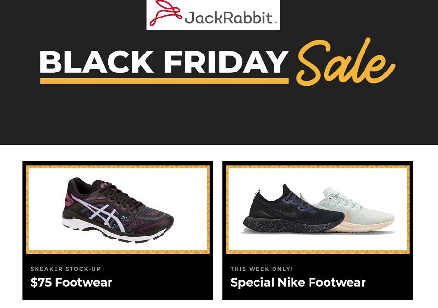 JackRabbit Black Friday 2020 Ad