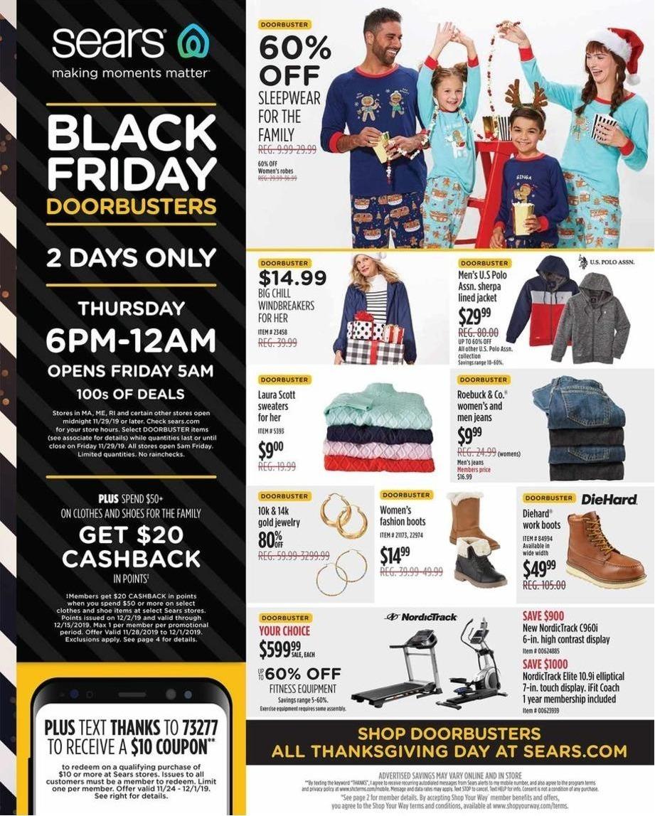 Sears Black Friday 2020 Ad