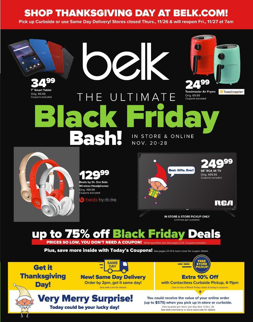 Belk Black Friday 2020 Ad