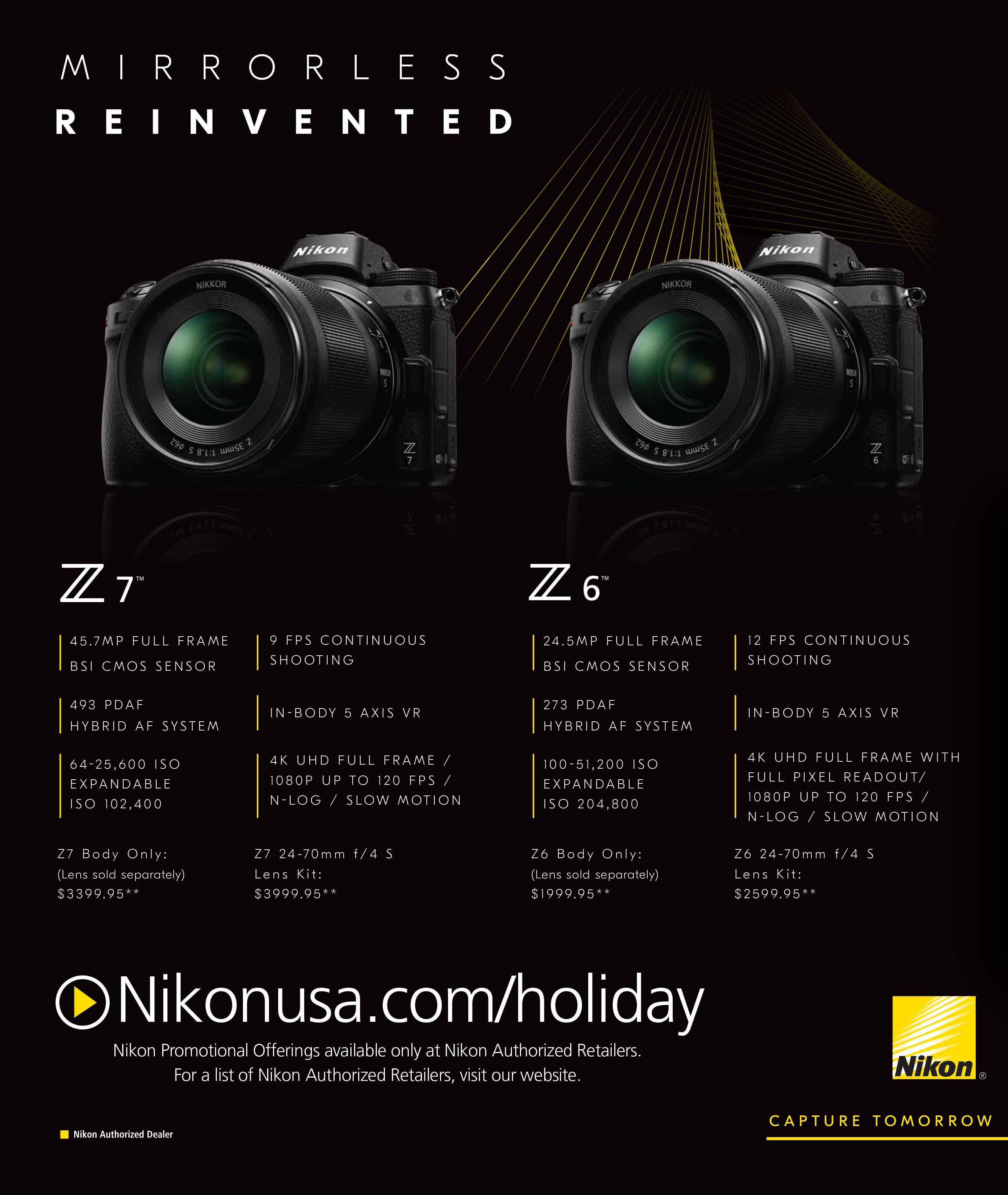Nikon Black Friday 2020 Ad