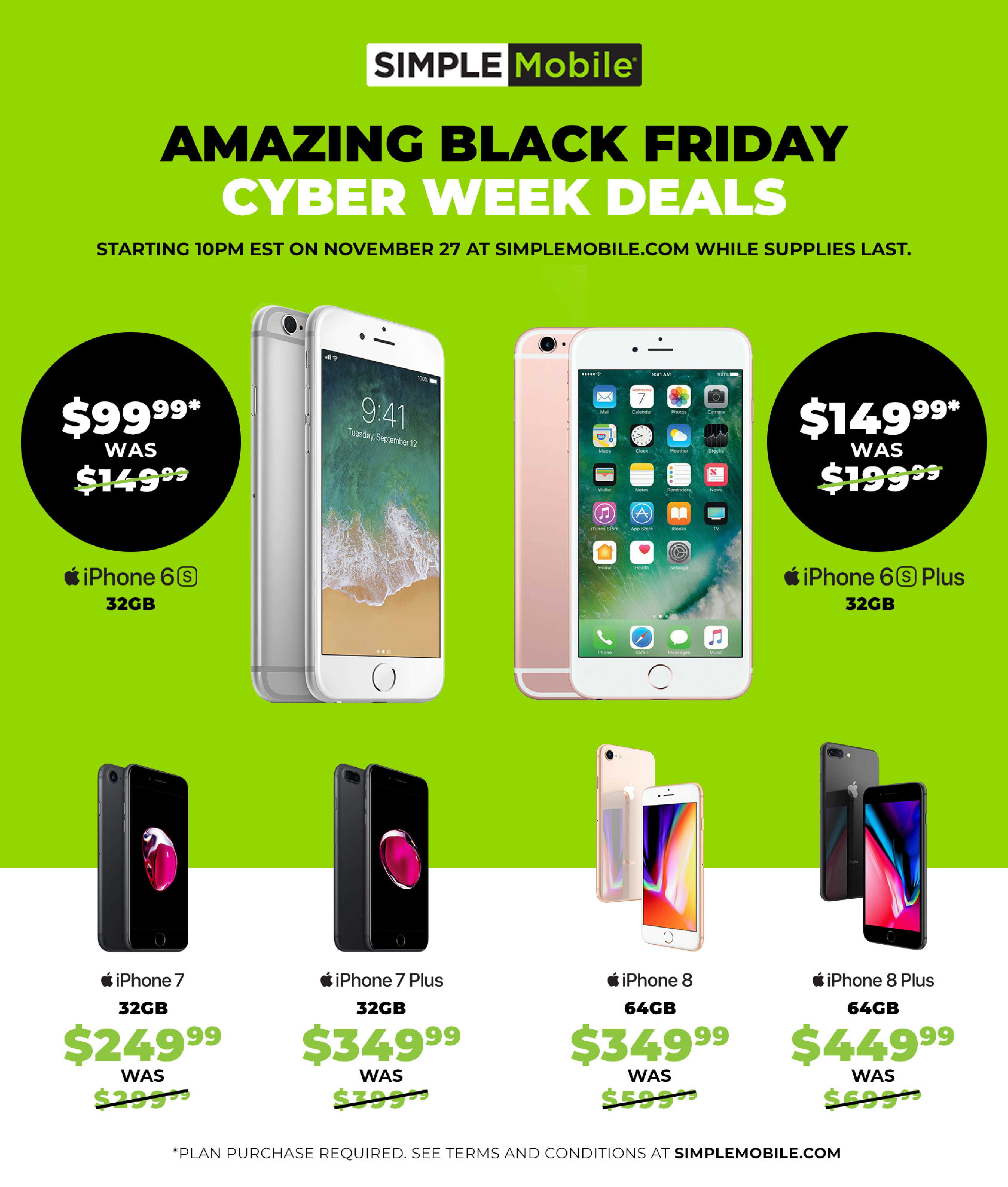 Simple Mobile Black Friday 2020 Ad