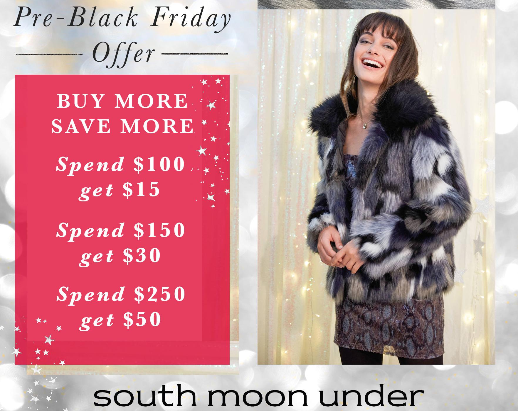 South Moon Under Black Friday 2020 Ad