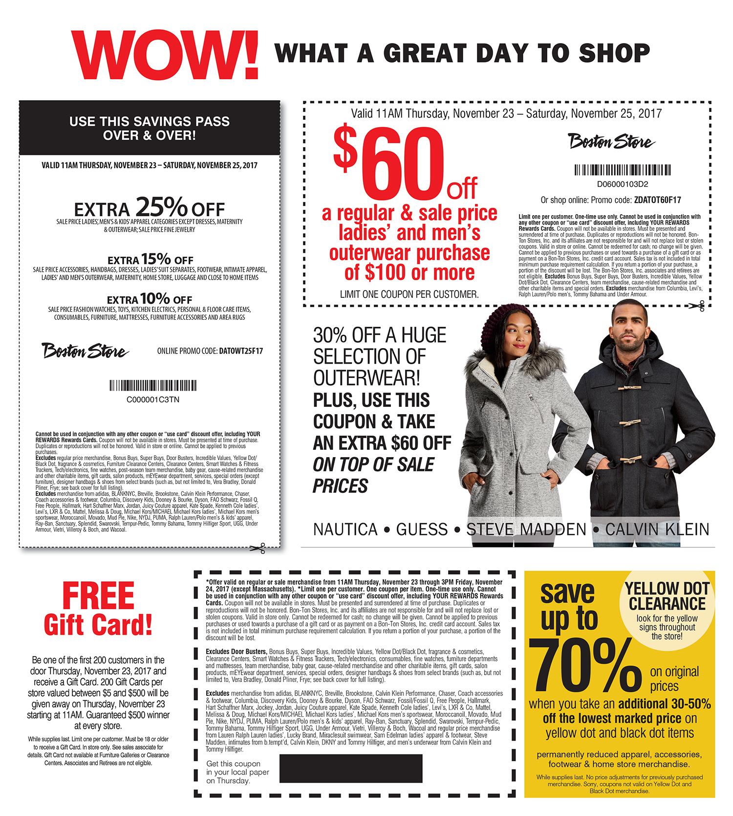 Boston Store Black Friday 2020 Ad