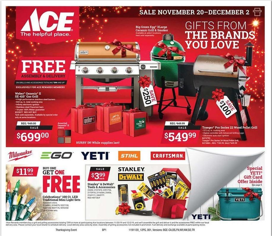 Ace Hardware Black Friday 2020 Ad