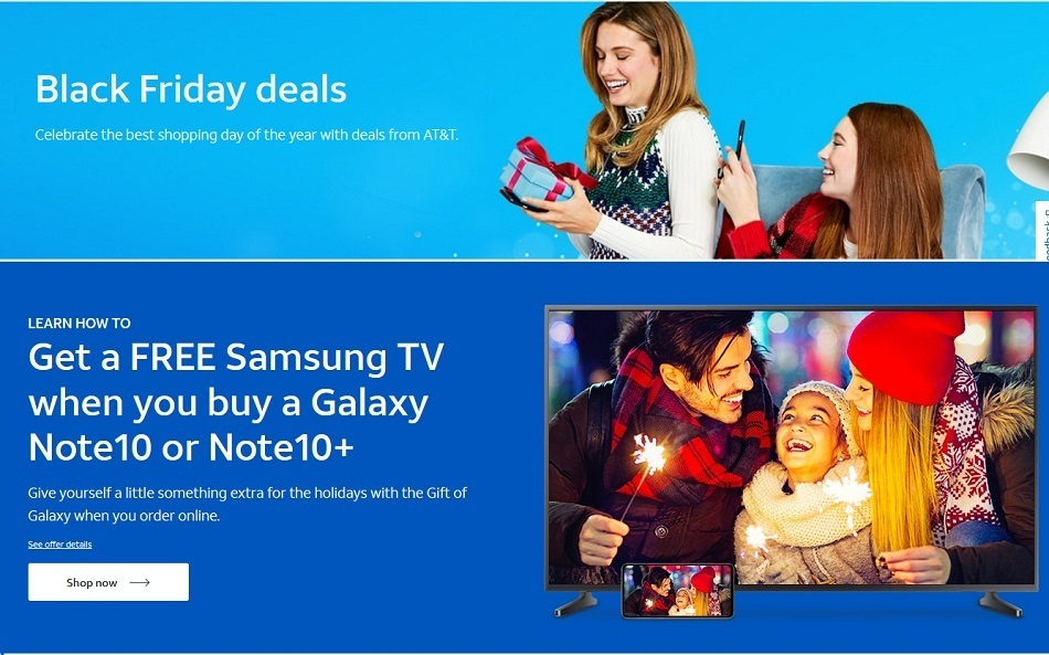 AT&T Mobility Black Friday 2020 Ad