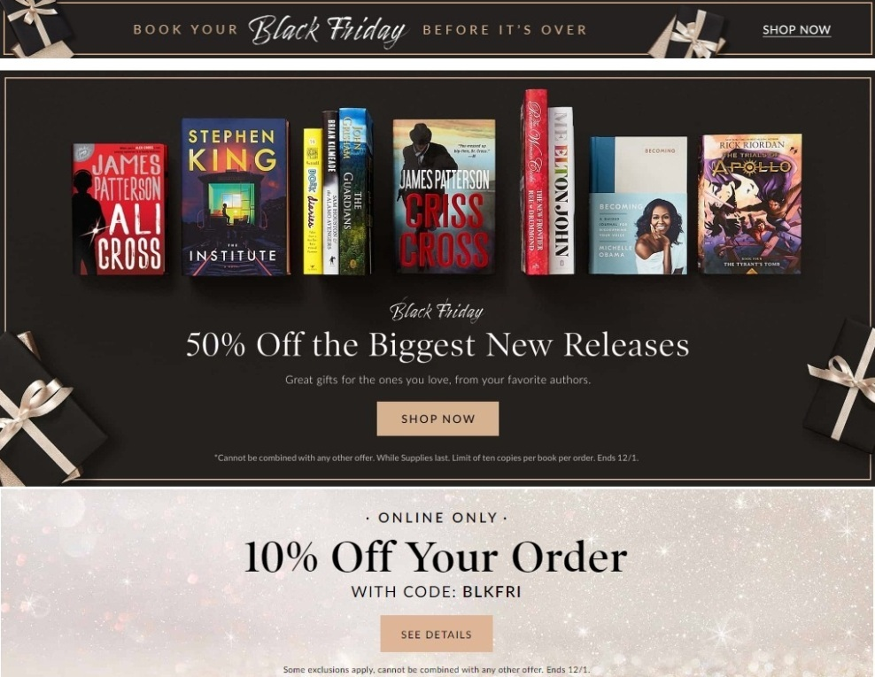 Barnes and Noble Black Friday 2020 Ad