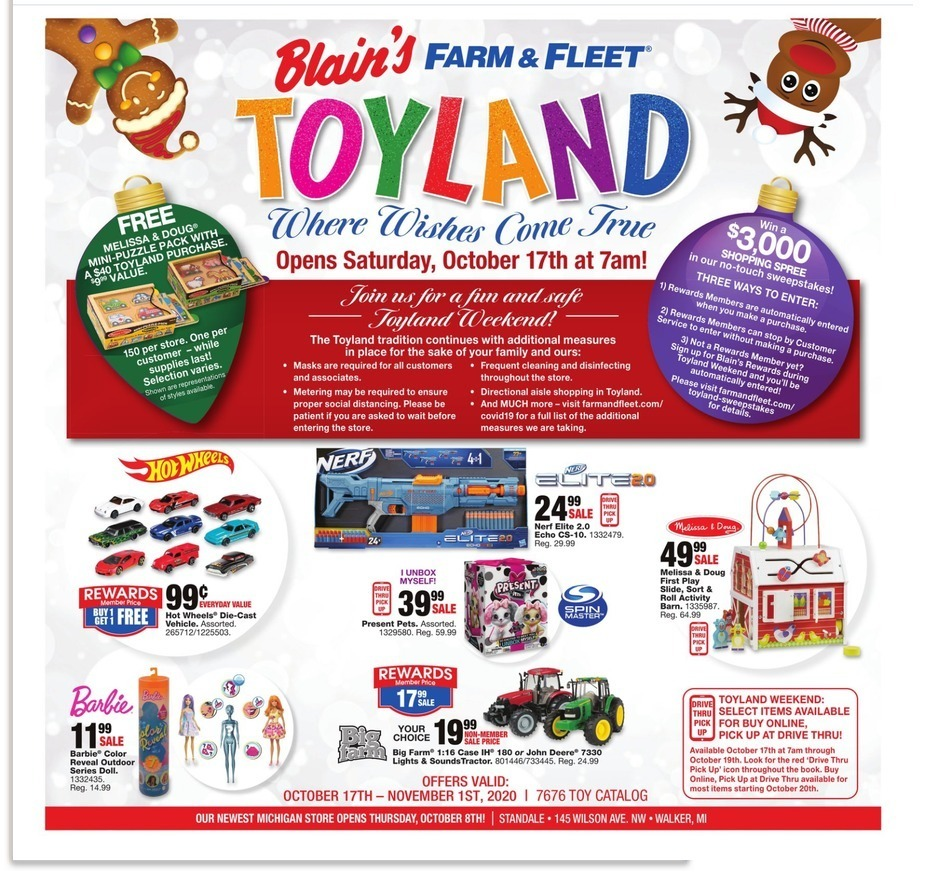 Blain's Farm & Fleet Black Friday 2020 Ad