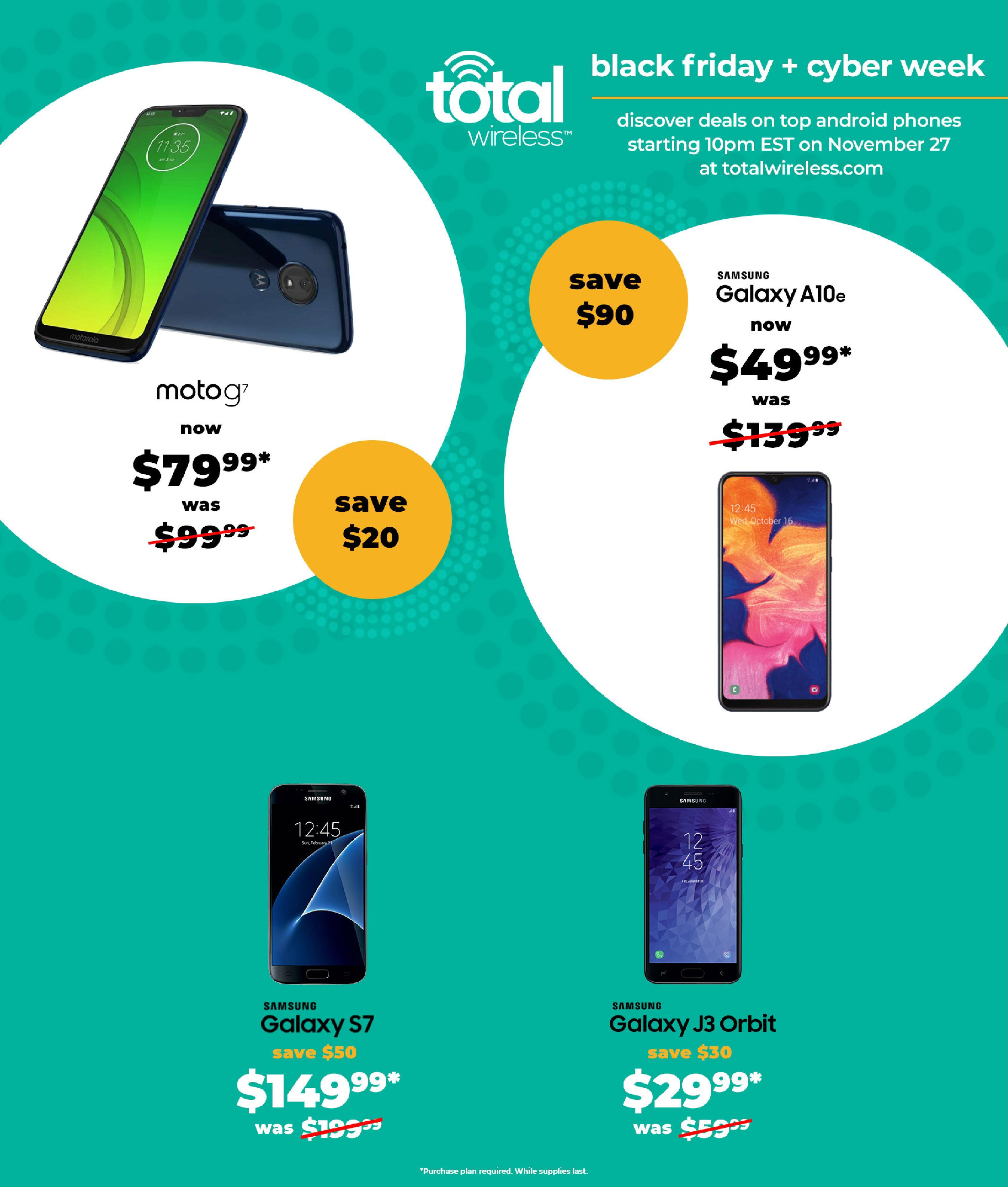 Total Wireless Black Friday 2020 Ad