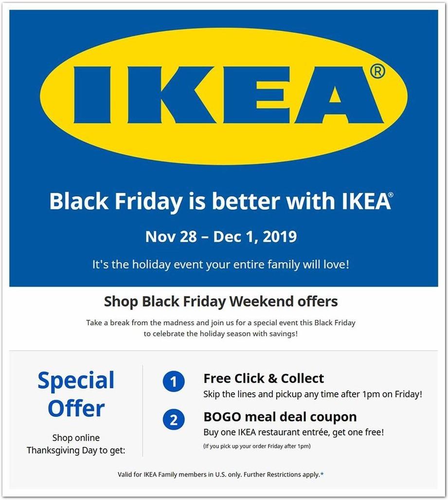 IKEA Black Friday 2020 Ad
