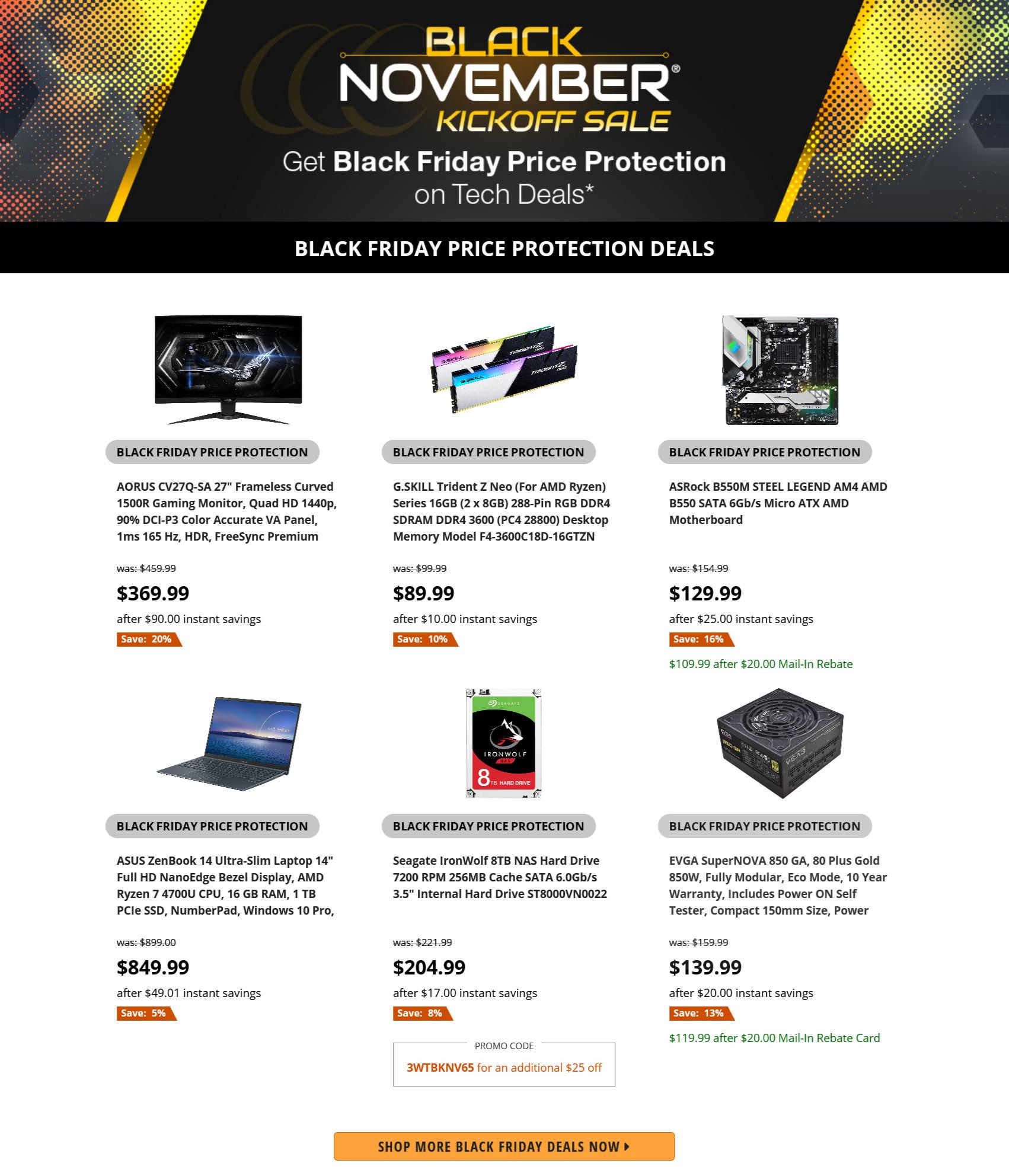 Newegg Black Friday 2020 Ad