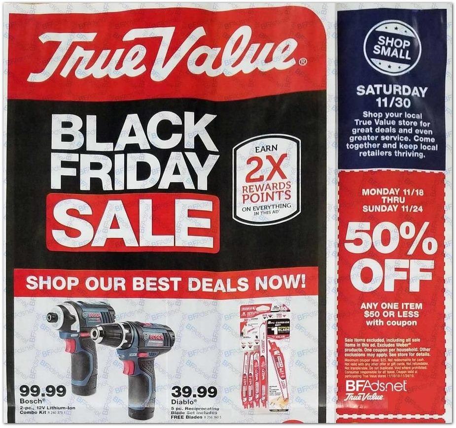 True Value Black Friday 2020 Ad