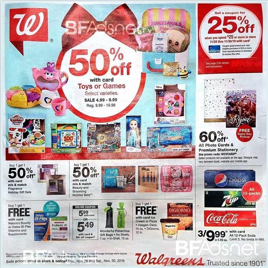 Walgreens Black Friday 2020 Ad