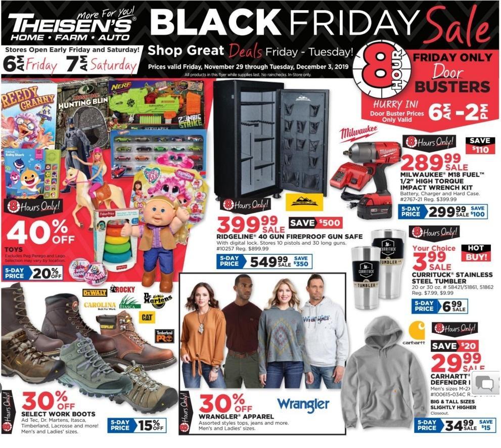 Theisens Black Friday 2020 Ad