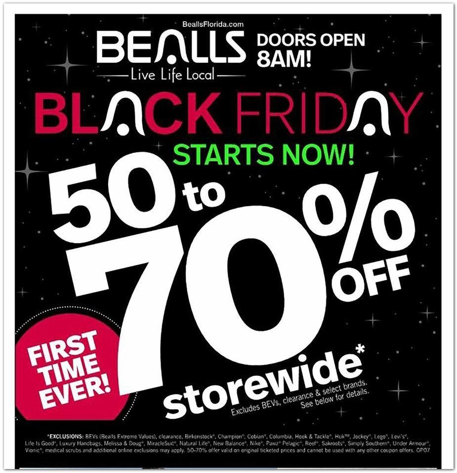 Bealls Florida Black Friday 2020 Ad