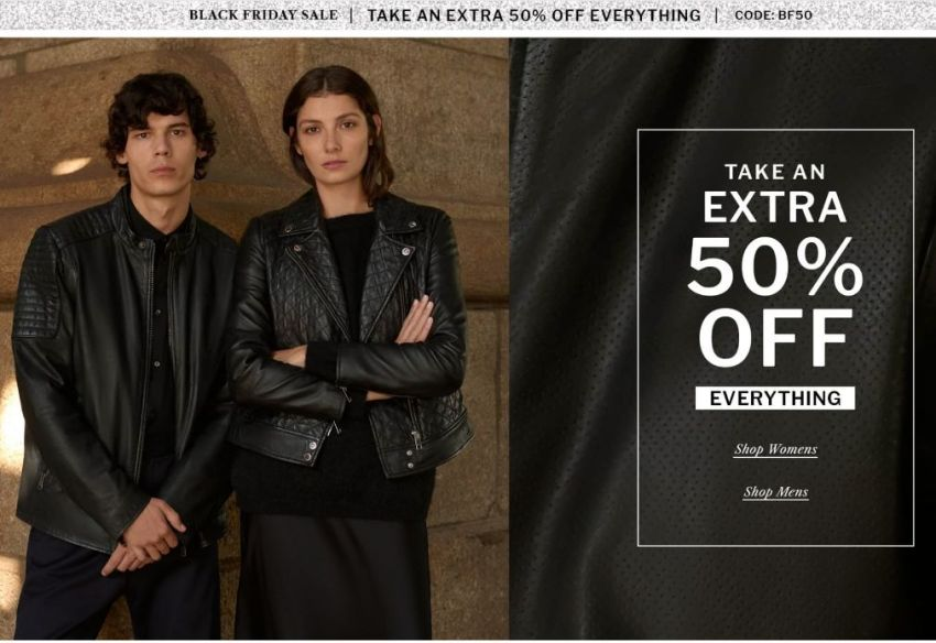 Wilsons Leather Black Friday 2020 Ad