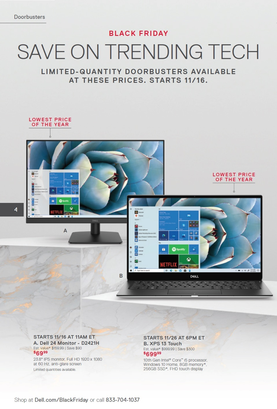Dell Home & Home Office Black Friday 2020 Ad