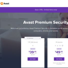Avast Software 返利