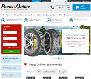 Tyres Pneus Online Cashback