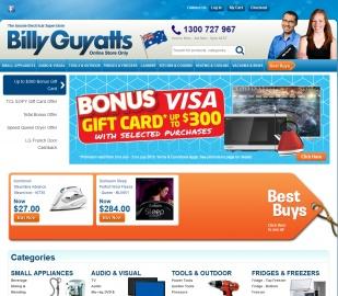 Billy Guyatts Cashback
