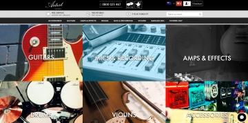 Artist Guitars NZ Cashback