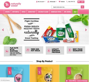 Naturally Sweet Products Cashback