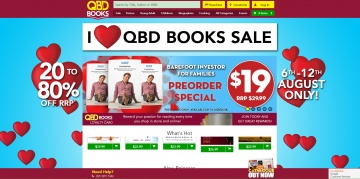 QBD Books Cashback
