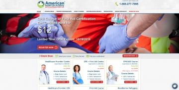 American Health Care Academy 返利