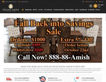 Amish Furniture 返利