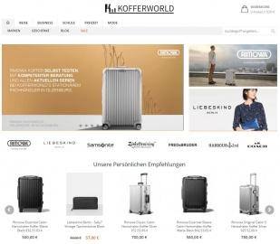 Kofferworld Reisen mit leichtem Gepäck