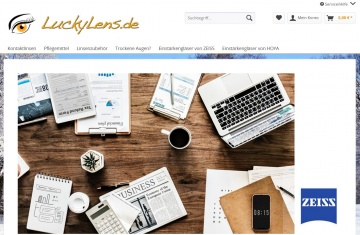 LuckyLens.de Pflegemittel - Reinigung und Pflege von Kontaktlinsen