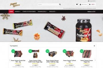 Proteine Artikel bei Power System Shop