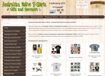 Australian Native T-Shirts 返利