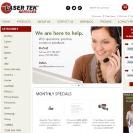 Laser Tek Services Cashback