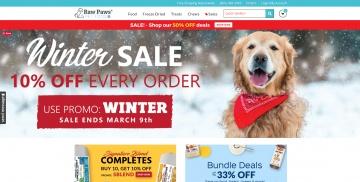 Raw Paws Pet Food Cashback