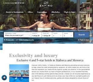 Zafiro Hotels UK Cashback