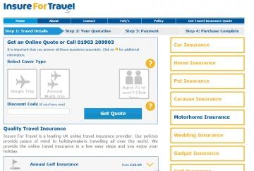 Insure For Travel Cashback