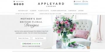 Appleyard Flowers 返利