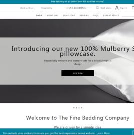 The Fine Bedding Company Cashback
