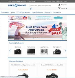Abe's of Maine Cashback