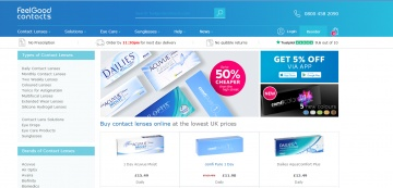 Feel Good Contacts Cashback