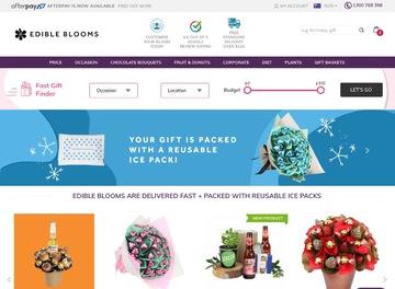 Edible Blooms Cashback
