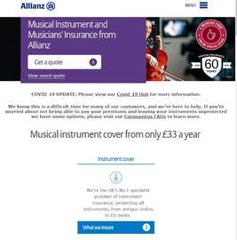 Allianz Musical Insurance 返利