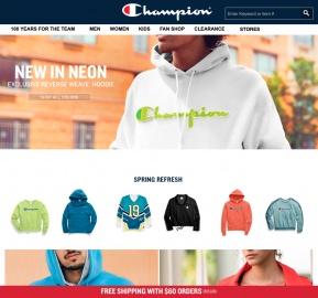 Champion美國官網 男女款時尚衛衣促銷