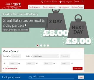 Parcelforce Worldwide Cashback