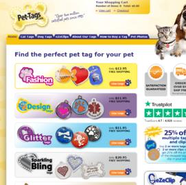 Pet-tags.com Cashback