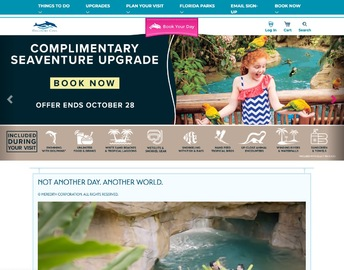 Discovery Cove Cashback